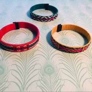 Tribal ethnic handmade bracelets